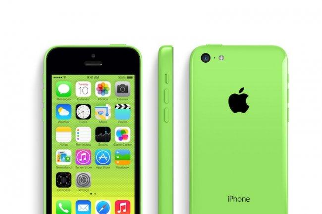iPhone vert